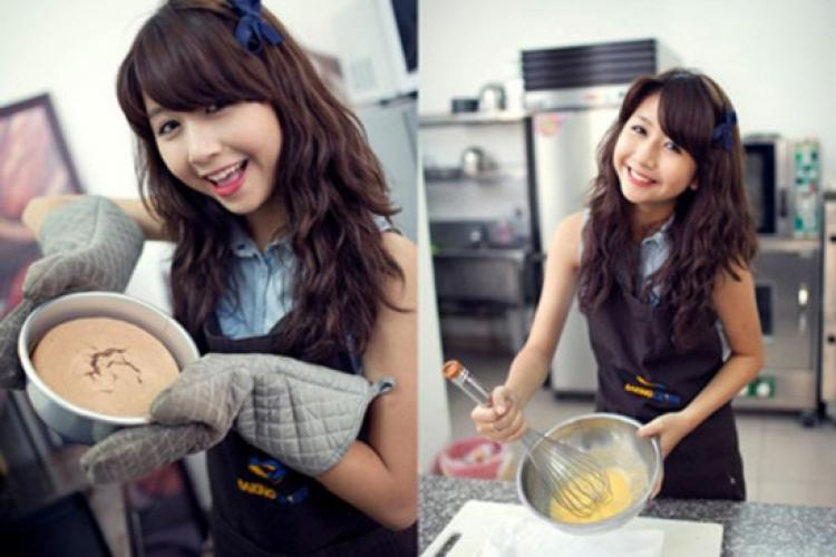 Sao Việt đua nhau đi học làm bánh