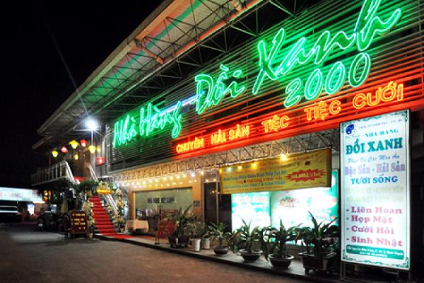 Nhà hàng đồi xanh 2000